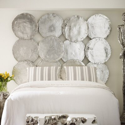 Phillips Collection Galvanized Circle Wall Décor (Set of 4)