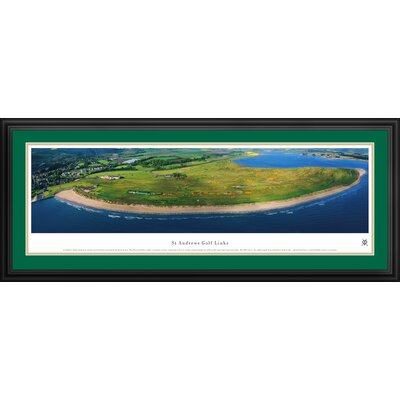 Blakeway Worldwide Panoramas, Inc St Andrews Links Deluxe Frame Panorama