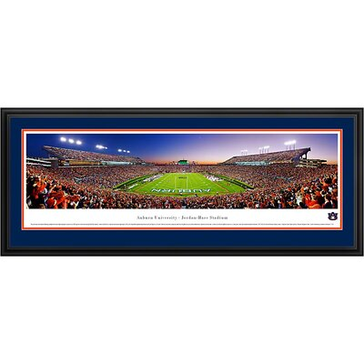 Blakeway Worldwide Panoramas, Inc NCAA End Zone Deluxe Frame Panorama