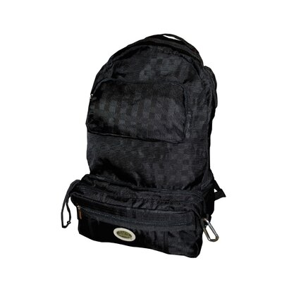 Sacs of Life Backpacker2 Earth - Clutch Unfolds Into Full Size Backpack