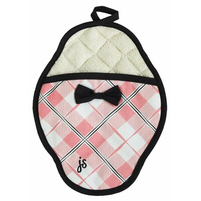 Jessie Steele Pretty In Plaid Scalloped Pot Mitt