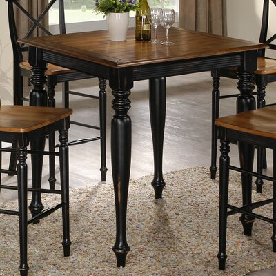 Emerald Home Furnishings Gatlinburg 5 Piece Pub Table Set