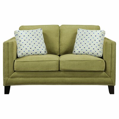 Carelton Nail Head Loveseat