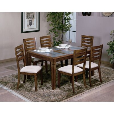 Emerald Home Furnishings Glacier Creek Dining Table