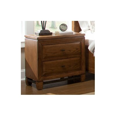 Grand Dunes 2 Drawer Nightstand