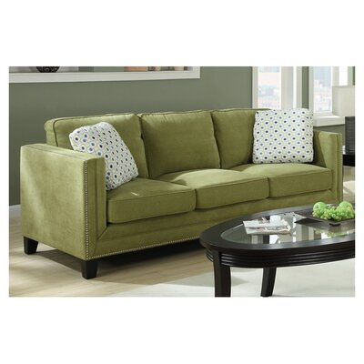 <strong>Emerald Home Furnishings</strong> Carelton Nail Head Sofa