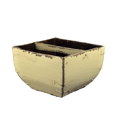 Antique Revival Rounded Chinese Rice Bucket