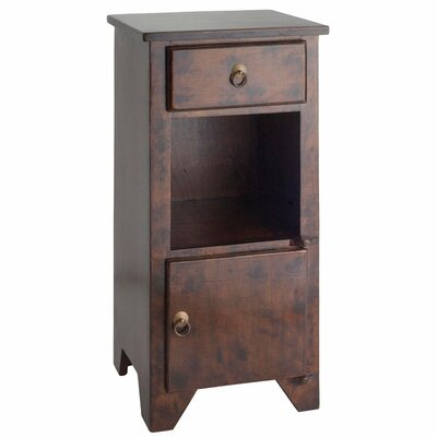 <strong>Antique Revival</strong> PL Home 1 Drawer Bistre Nightstand
