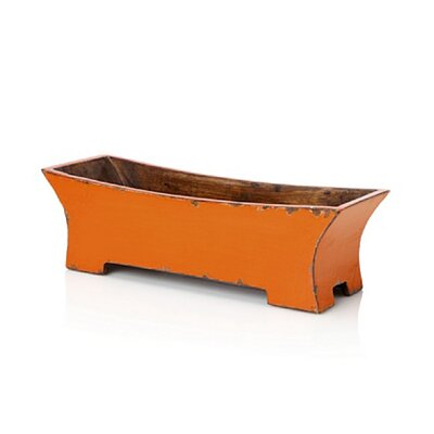 Antique Revival Distressed Zen Rectangular Planter