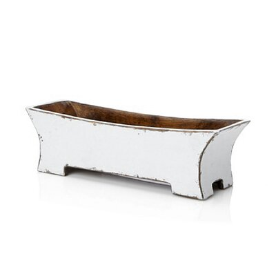 Distressed Zen Rectangular Planter