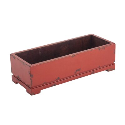 Antique Revival Classic Rectangular Planter with Legs