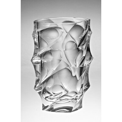 "KDGifts Calypso Crystal 11"" Flower Vase"