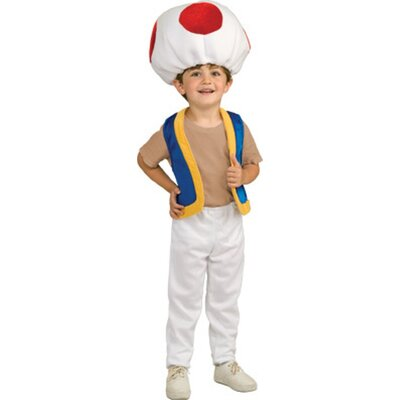 Rubies Super Mario Toad Child Costume