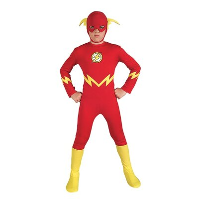 Rubies Justice League The Flash Child Costume