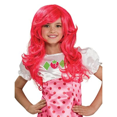 Rubies Strawberry Shortcake Wig in Strawberry