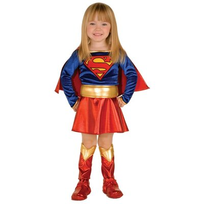 Rubies Toddler Supergirl Costume