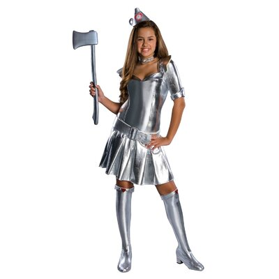 Wizard of Oz Tin Woman Tween Costume