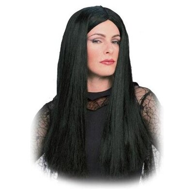 Rubies The Addams Family Morticia Adult Wig