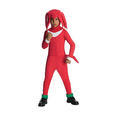 Sonic Knuckles Child Costume