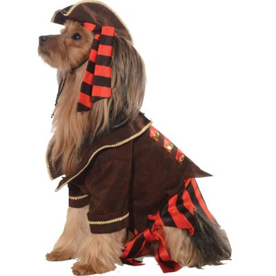 Pirate Boy Dog Costume