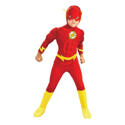 The Flash Deluxe Muscle Chest Child Costume