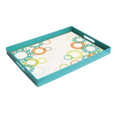 <strong>American Atelier</strong> Garden Party Rectangular Serving Tray