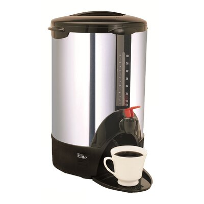 Elite Cuisine 40-Cup Coffee Maker