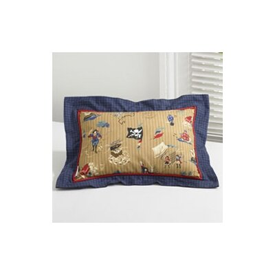 Pirates Printed Decorative Pillow