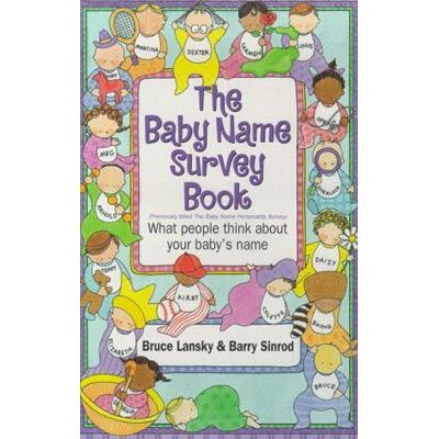 Simon & Schuster Baby Name Survey Book