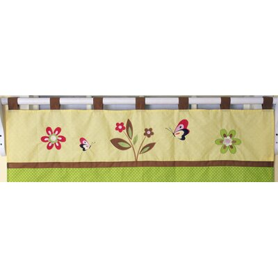 Geenny Window Valance for Monkey Crib Bedding Set