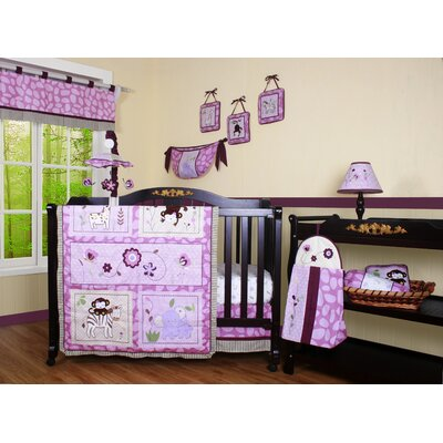 Boutique Animal Kingdom 12 Piece Crib Bedding Set
