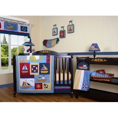 Boutique Baby Boy Sailor 12 Piece Crib Bedding Set