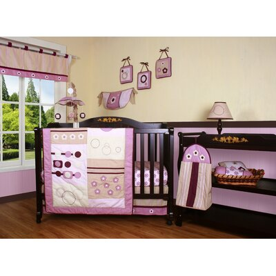 Geenny Boutique Baby Girl Artist 12 Piece Crib Bedding Set