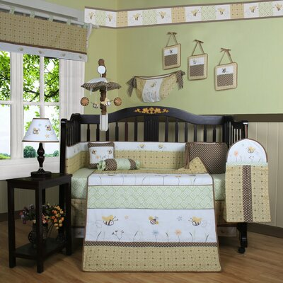 Boutique Bumble Bee 13 Piece Crib Bedding Set