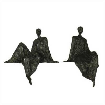 Art Dreams Repose Metal Sculptures (Set of 2)