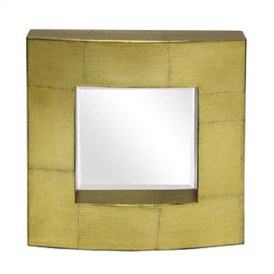Art Dreams Antique Gold Leaf Block Mirror