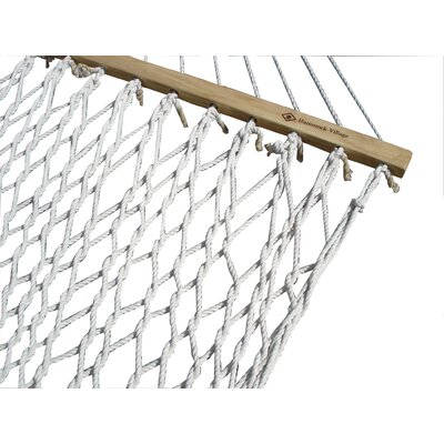 Vivere Hammocks Cotton Rope Double Hammock