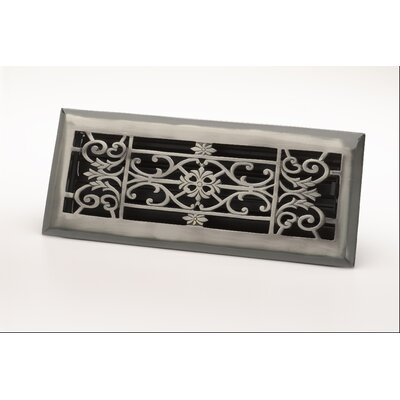 "Zoroufy 4"" x 10"" Decorative Floor Register"