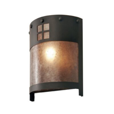 Steel Partners Pasadena Timber Ridge 1 Light Wall Sconce