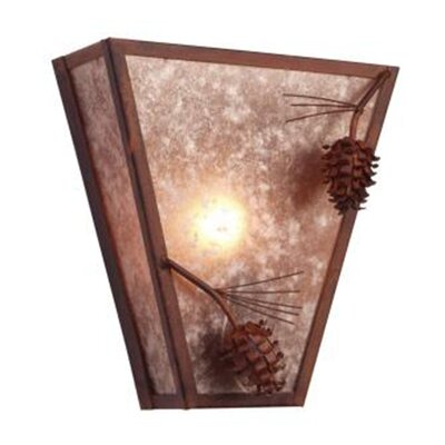Steel Partners Ponderosa Pine Vegas 1 Light Wall Sconce