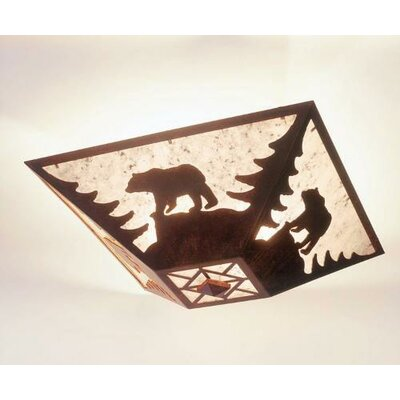 Steel Partners Bear Drop Ceiling Mount