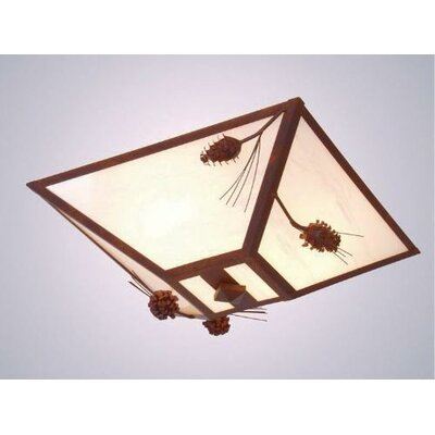 Ponderosa Pine Drop Ceiling Mount