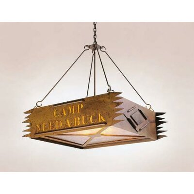 Steel Partners Camp 3 Light Personalized Pendant