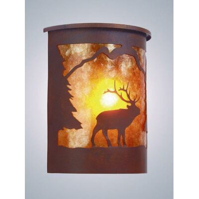 Steel Partners Elk Oudoor Wall Sconce