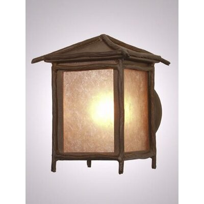 Steel Partners Sticks Peaked Outdoor Wall Lantern