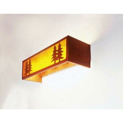 Steel Partners Twin Tree 4 Light Vanity Wall Sconce