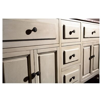 "Ove Decors Birmingham 60"" Double Bathroom Vanity Set"