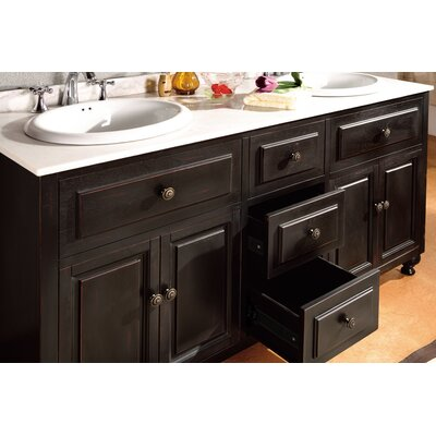 "Ove Decors London 60"" Double Bathroom Vanity Set"