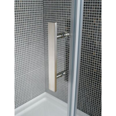 Ove Decors 40'' Corner Glass Pivot Door Shower Enclosure with Acrylic Base