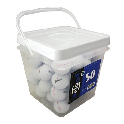 ReLoad High Grade Srixon SoftFeel Lady Golf Balls (Set of 50)
